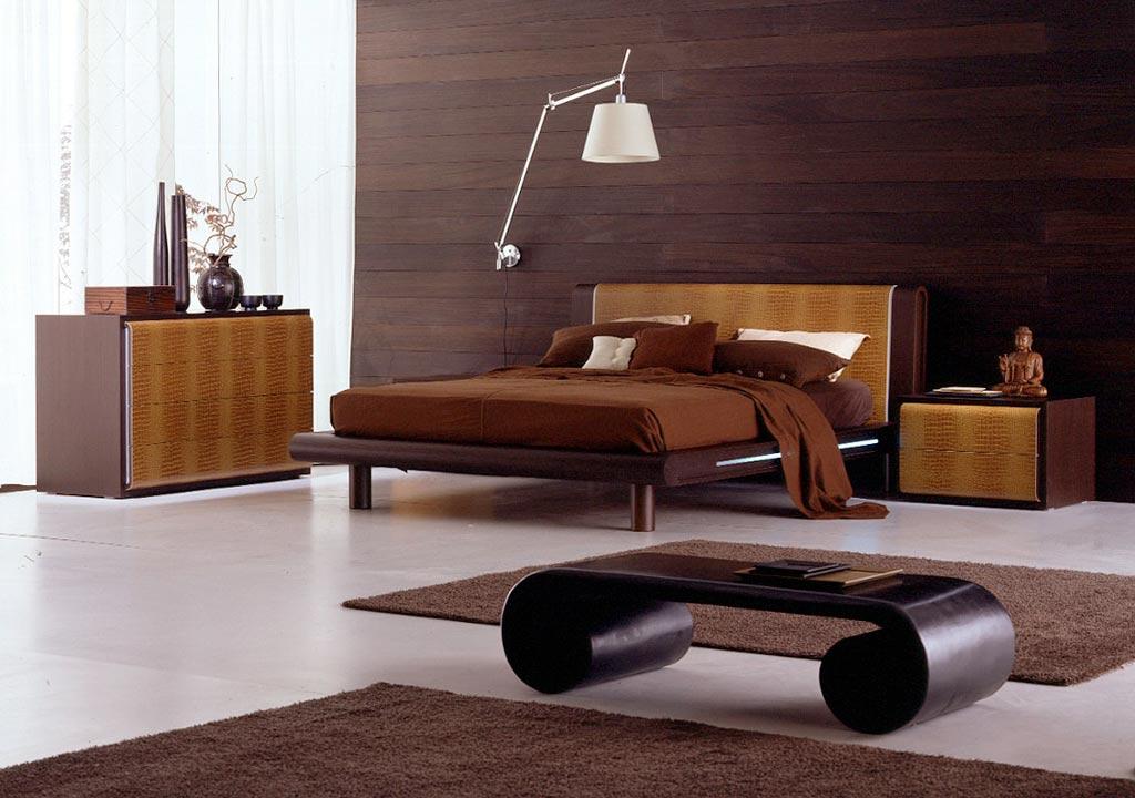 Wooden living room set